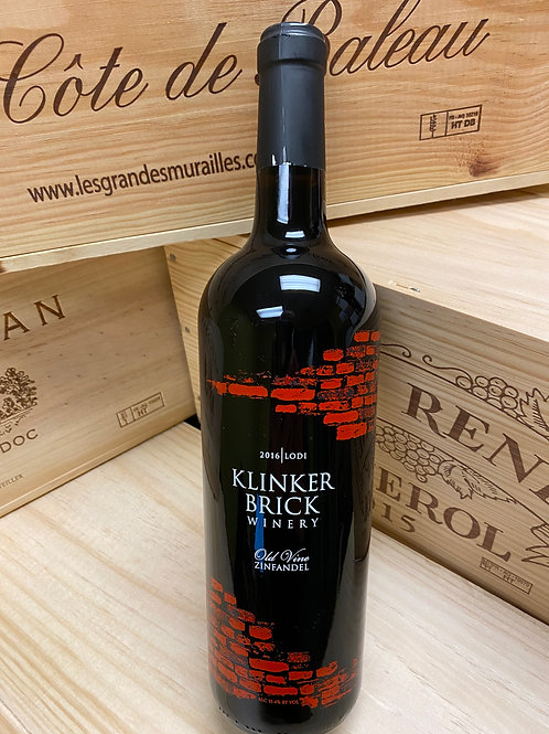 2016  Klinker Brick, Old Vine Zinfandel