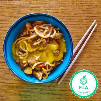 Nouilles au curry japonais (Curry udon)