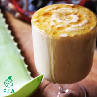 """""""Aloe jacta est"""" - Savoureuse boisson végétalienne à l'aloe vera 🌱"""