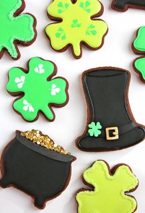 Les cookies de la Saint Patrick !