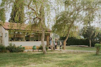 תמונה של כיתת לימוד בבית הספר בכפר הנוער בן שמן