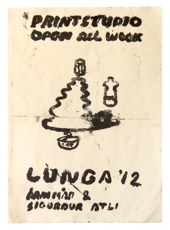 Poster from Lunga art festival
