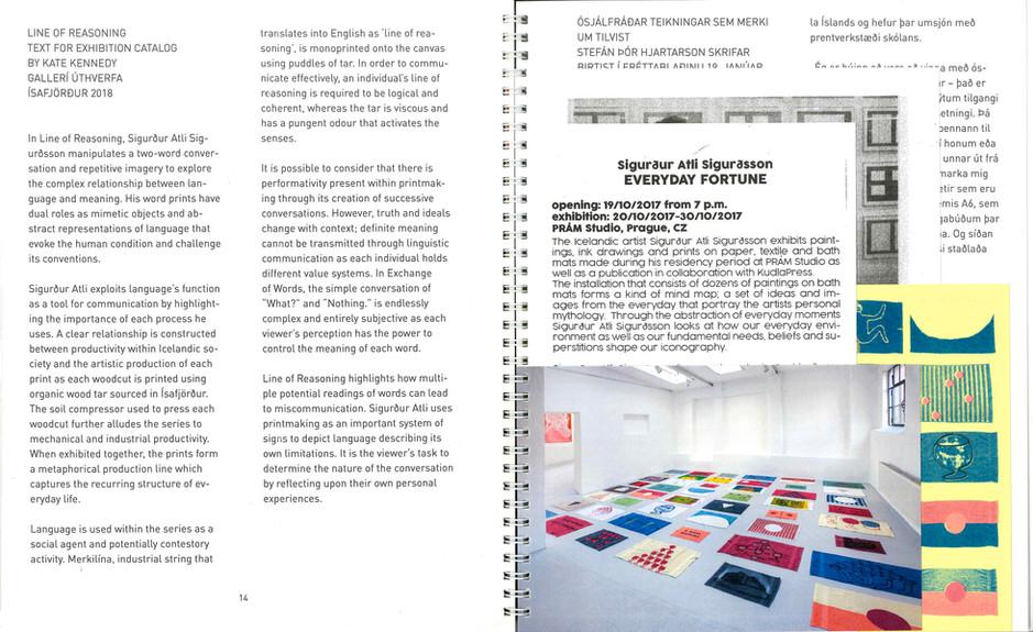 Ephemera artist book | bókverk