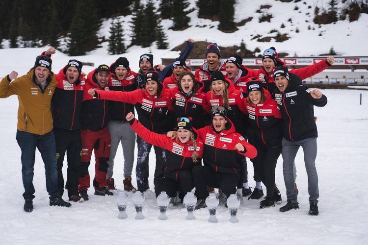 Hochfilzen _Swissbiathlonteam