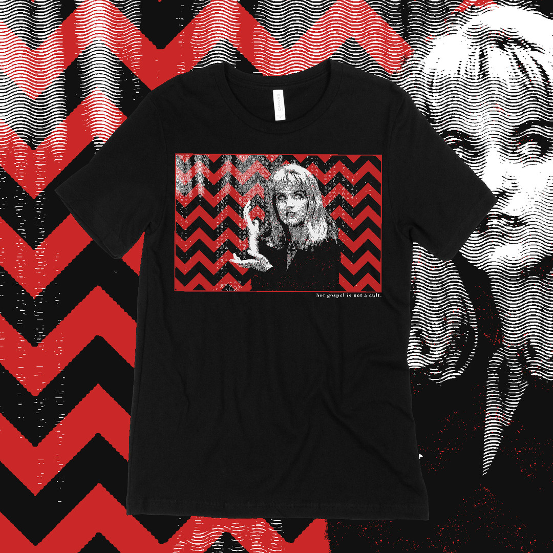 MEANWHILE - TWIN PEAKS - T SHIRT