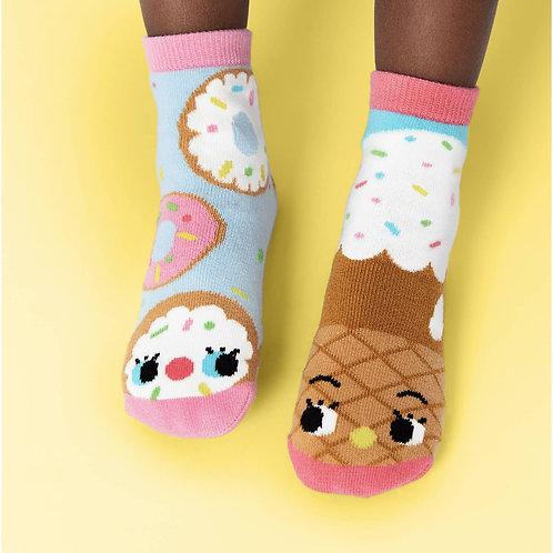 Donut & Ice Cream - Pals Socks - Mismatched Socks