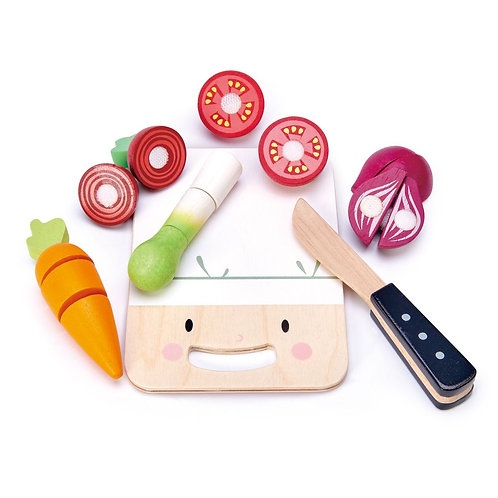 Mini Chef Chopping Board - Tender Leaf toys