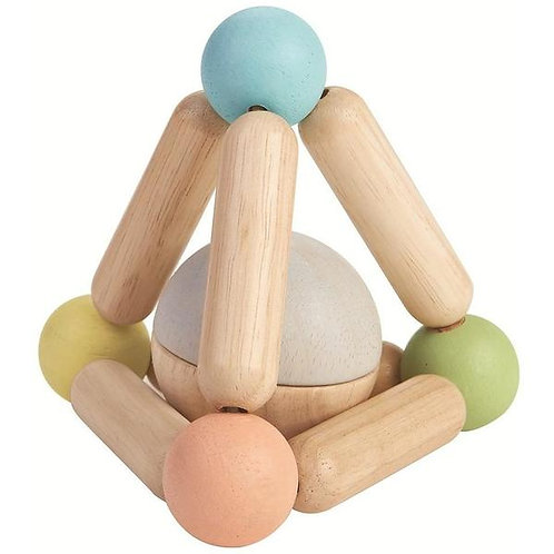 Triangle Clutching Toy - Pastel Colors