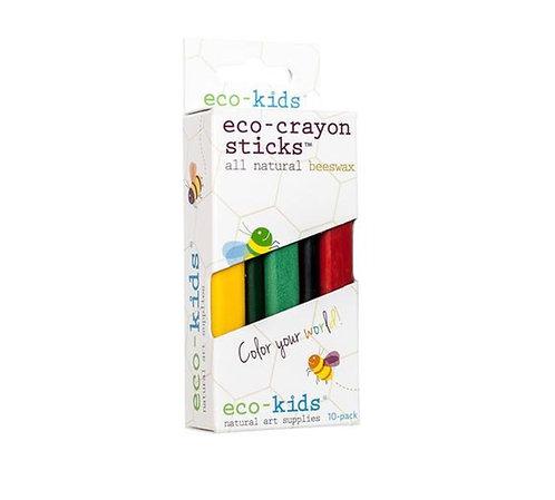 Eco-crayon sticks 10 pack