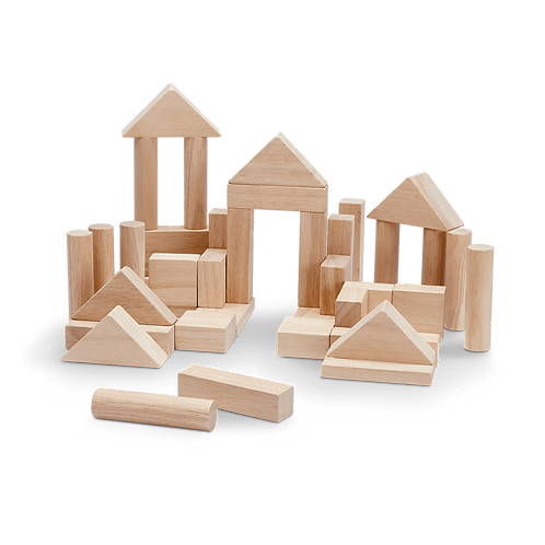 40 unit block set - Natural