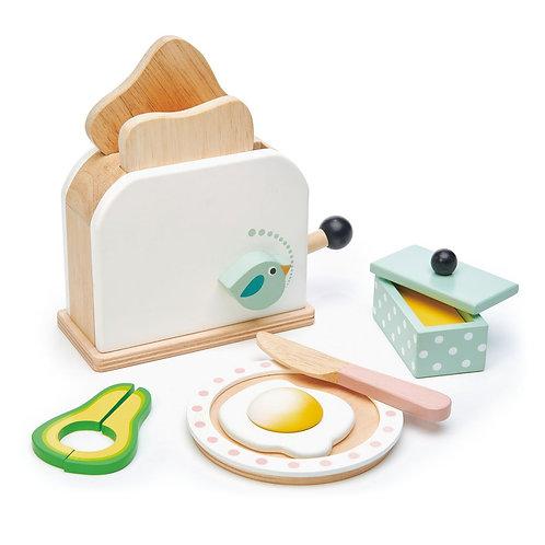 Breakfast Toaster Set - Tender Leaf toys