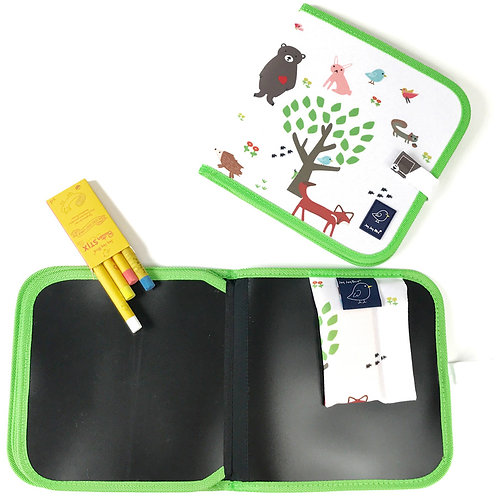 Doodle It and Go Erasable Mat - Forest