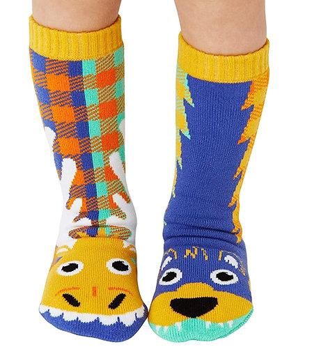 Moose & Bear - Pals Socks - Mismatched Animal Socks