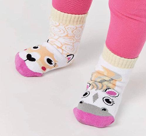 Horse & Alpaca - Pals Socks - Mismatched Animal Socks