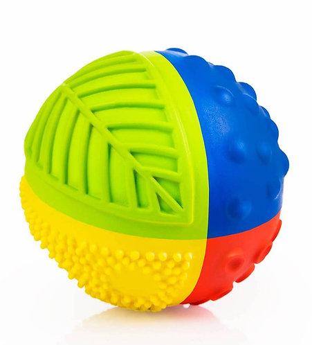 Rainbow Sensory Ball 3″ - 100% Pure Natural Rubber
