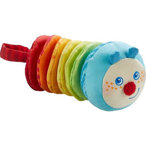 Caterpillar Mina vibrating soft pull toy