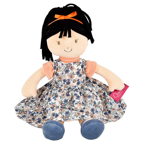 Tammy Lu - soft doll with black hair