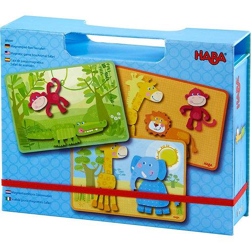 Magnetic Game Box Animal Safari