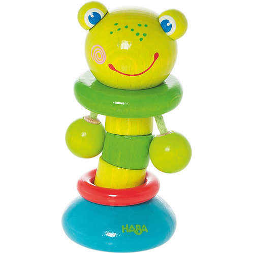 Clutching Toy - Clatter Frog