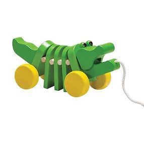 Plan-Toys-Dancing-Alligator-Pull-Along-T