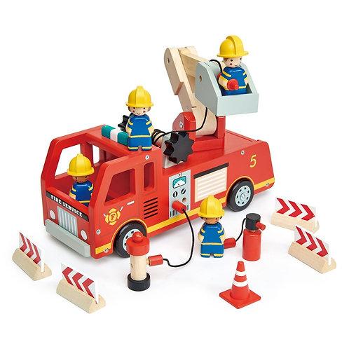 Fire Engine - Tender leaf toys