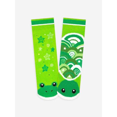 Frog and Turtle - Pals Socks - Mismatched Animal Socks