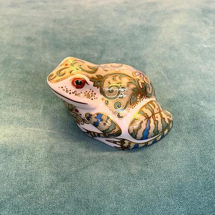 Crown Derby Frog