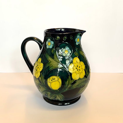 Moorcorft Buttercup Jug designed by Sally Tuffin