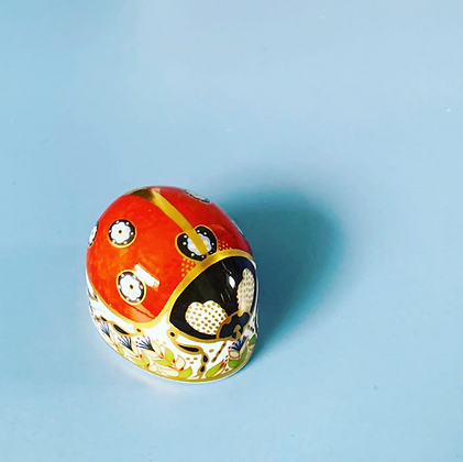 Royal Crown Derby Ladybird