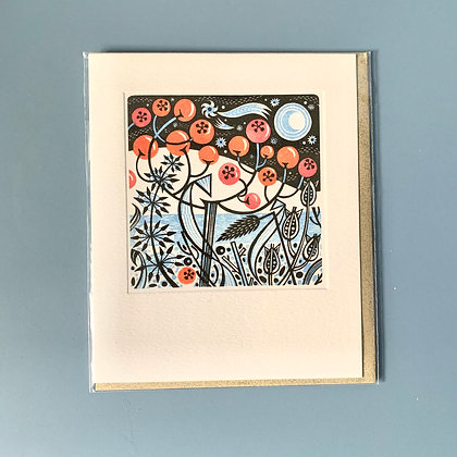 Winter Seed Heads Card