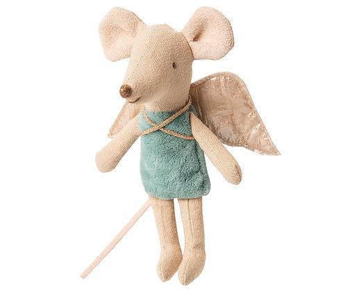 Maileg Little Sister Blue Fairy Mouse