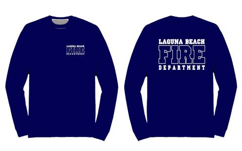Long Sleeve Fire Department T Shirt