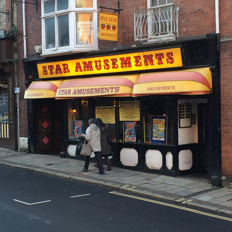 Five Star Amusements AGC located in Exeter city centre sold to Luxury Leisure