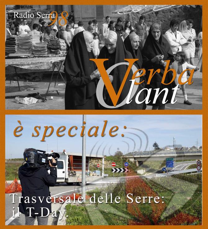 Radio Serra 98, lunedì 27 giugno, a partire dalle ore 17.00 è Verba Volant, speciale: Trasversale de