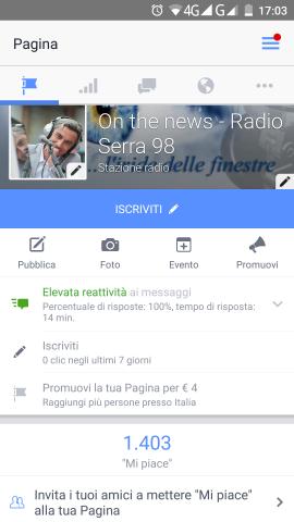 """""""On The News"""" 1400 volte Grazie!"""