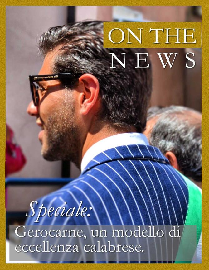 """On the news - speciale: """"Gerocarne, un modello di eccellenza calabrese""""."""