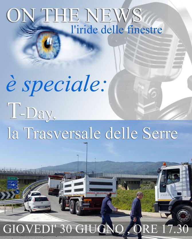 Radio Serra 98, speciale diretta live, T-Day, la Trasversale delle Serre
