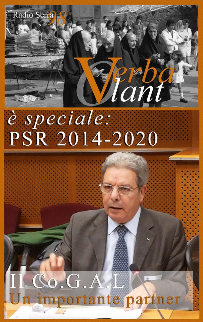Verba Volant, lunedì 1 agosto, a partire dalle ore 17.00 è speciale PSR 2014 -2020. Il Co.G.A.L., un