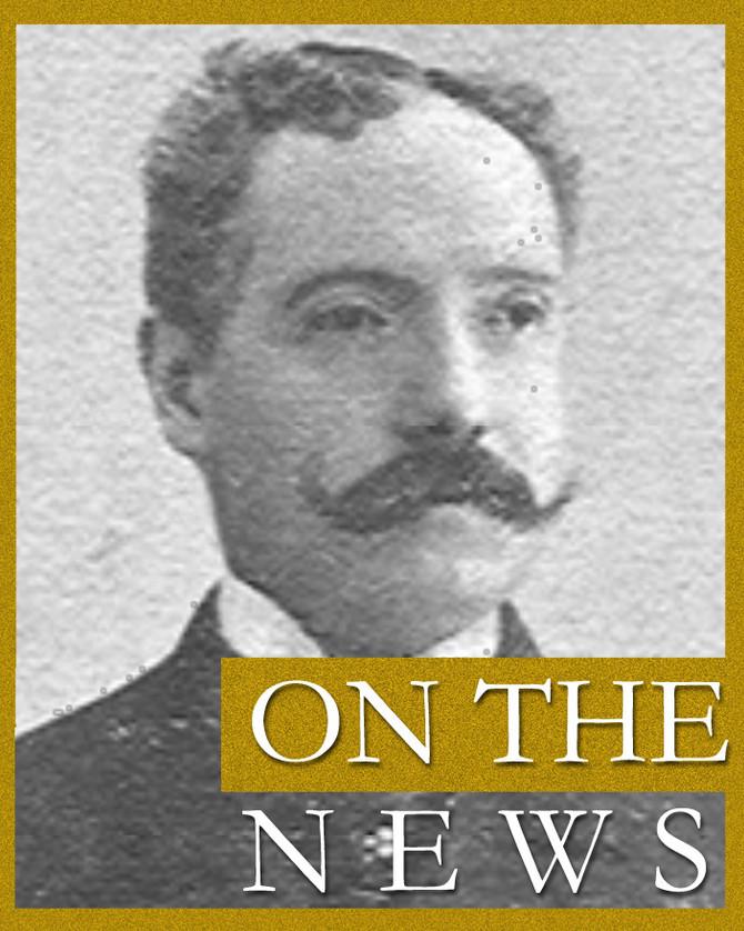 On the news di sabato 28 ottobre, in esterna live, è speciale: Bruno Chimirri un secolo dopo. Un ann
