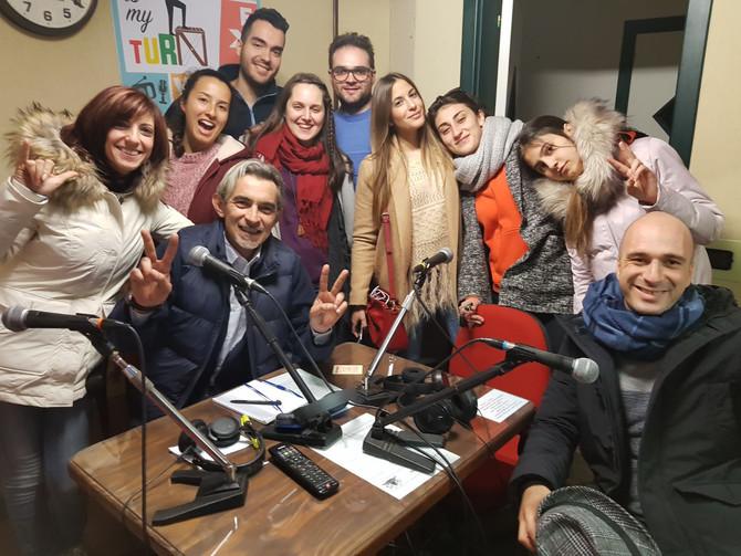 """Radio Serra 98 è speciale """"Scialla show"""", protagonisti i ragazzi del progetto Erasmus Plus."""