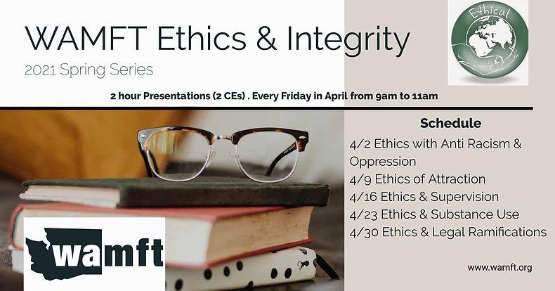 WAMFT Ethics & Integrity 2020 FB Eve