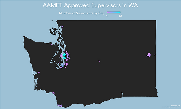 WA AAMFT Approved Supervisor Map.png