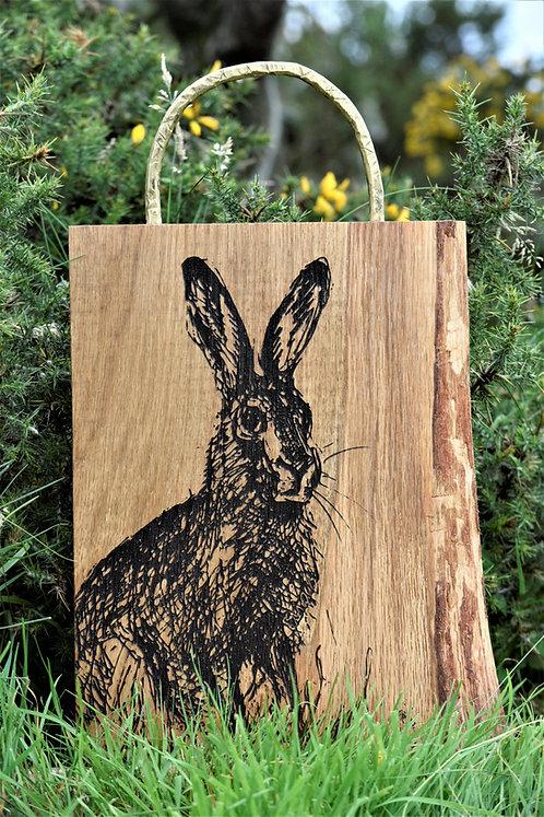 Personalised Unique Oak Cutting Board -Peter Rabit