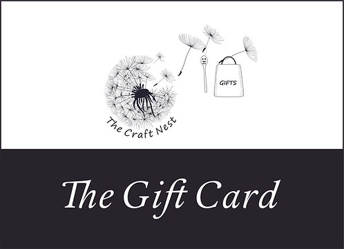 The Craft Nest Gift Card €25