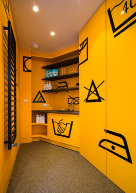 Graphic Utility Room