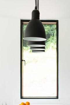 Kitchen Window and Lighting