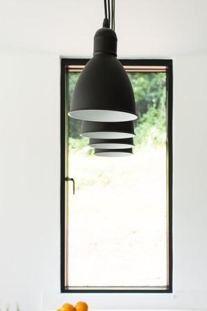 Barn House Kitchen Lighting