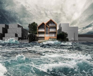 Waterside Coastal House