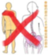 骨盤や背骨のズレは原因ではありません