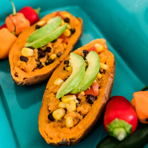Mexican Sweet Potatoes